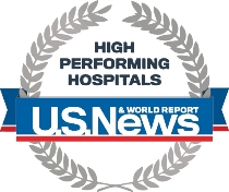 U.S. News & World Report High Performing Hospitals Designation for Heart Failure Care
