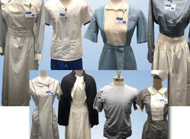 School of nursing uniforms from the past
