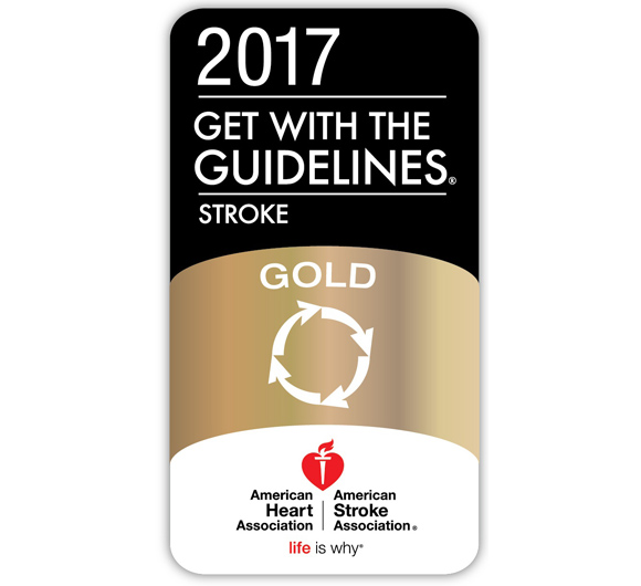 Stroke Gold Plus Award