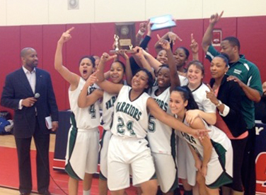 Photo of the Massasoit Community College Girls Basketball Team