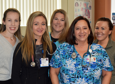 Photo of the Cardiac Rehabilitation Staff