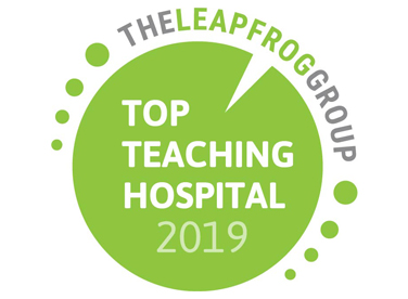 Photo of Top Teaching Hospital Award Logo
