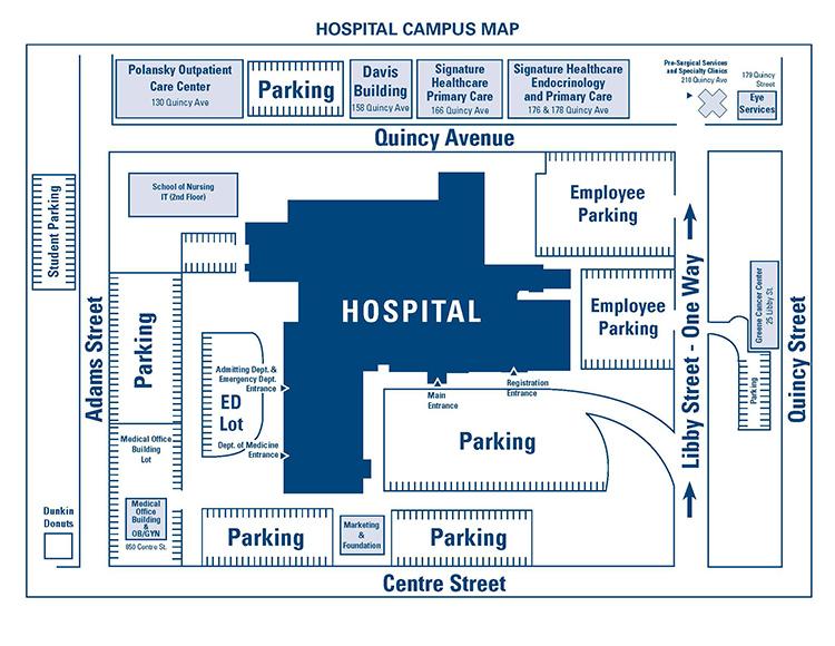 Brockton Va Campus Map.Campus Map Signature Healthcare
