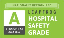 The Leapfrog Group Hospital Safety Grade - Straight A's