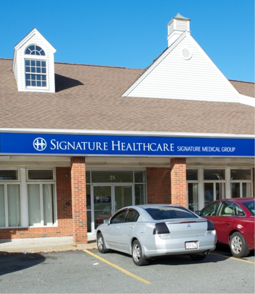 signature healthcare randolph location
